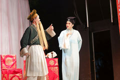 Distillateurs jinyuliangyuan d'opéra taiwanais photographie stock