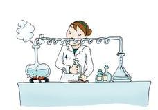 Distillatie Royalty-vrije Illustratie