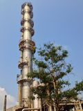 Distillation column Royalty Free Stock Photos
