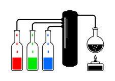 Distillation kit Royalty Free Stock Image