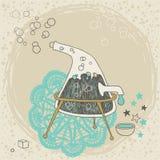Distillatore sconosciuto illustrazione vettoriale