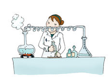 Distillazione royalty illustrazione gratis