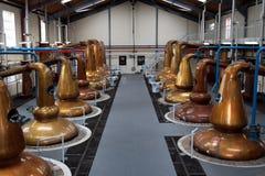 Distilleerderij Royalty-vrije Stock Afbeelding