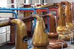 Distilleerderij stock fotografie