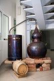 Distilleria fotografia stock libera da diritti