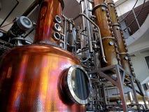 distilleria fotografie stock