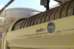 Distilleria acida di Pisco in Pisco Elqui immagine stock libera da diritti