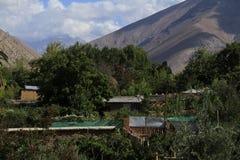 Distilleria acida di Pisco in Pisco Elqui immagini stock