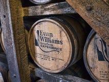 Distilleria in Bardstown Kentucky U.S.A. fotografie stock