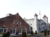 Distilleria d'acqua dolce intermedia del bourbon del Kentucky immagini stock libere da diritti