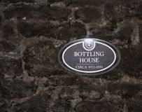 Distilleria del Bourbon della riserva di Woodford immagini stock