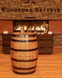 Distilleria del Bourbon della riserva di Woodford immagine stock libera da diritti