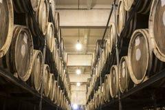 Distilleria del brandy e del whiskey fotografia stock