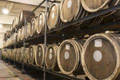 Distilleria del brandy e del whiskey immagini stock