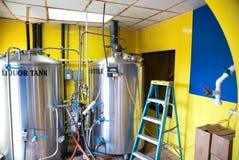 Distilleria del rum immagini stock