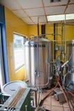 Distilleria del rum fotografia stock