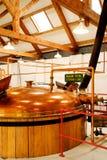 Distilleria del whiskey fotografia stock libera da diritti