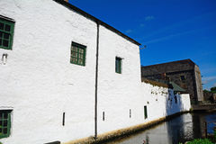 Distilleria del whiskey, Kilbeggan, Irlanda fotografia stock libera da diritti