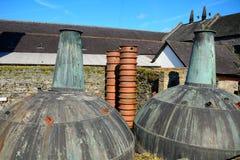 Distilleria del whiskey, Kilbeggan, Irlanda fotografia stock