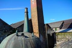 Distilleria del whiskey, Kilbeggan, Irlanda immagini stock