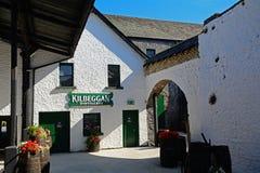 Distilleria del whiskey, Kilbeggan, Irlanda fotografie stock libere da diritti