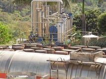Distilleria della vodka Immagine Stock Libera da Diritti