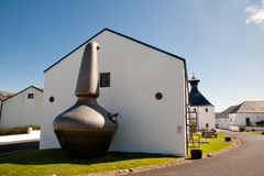 Distilleria di Ardbeg immagine stock libera da diritti