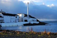 Distilleria di Bowmore, Islay, Scozia fotografia stock libera da diritti