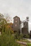 Distilleria di legno rustica del bourbon immagine stock libera da diritti