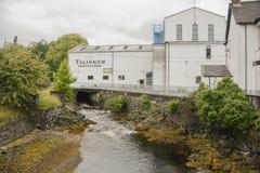 Distilleria di Talisker fotografia stock