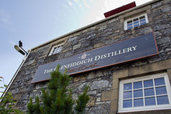 Distillerie de Glenfiddich, Ecosse Photo stock
