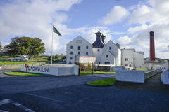 Distillerie de Lagavulin Photos stock