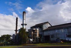 Distillerie de rhum de Bundaberg image stock