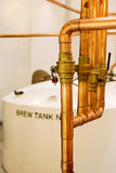 Distillerie de whiskey images libres de droits
