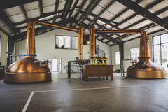 Distillerie de whiskey Photos libres de droits