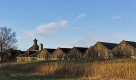 Distillerie et entrepôts de Benriach. Images stock