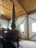 Distillery. Bourbon distillery still whiskey alcohol Royalty Free Stock Images