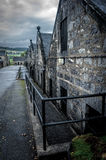 Distillery. Old distillery in brora in scotland royalty free stock images