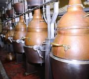 Distillery. Royalty Free Stock Image