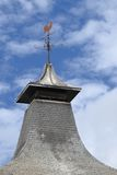 Distillery roof. Ventilated pagoda roof from a scottish whisky distillery stock photo