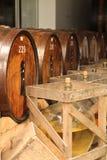 Barrels of liquor Royalty Free Stock Photo