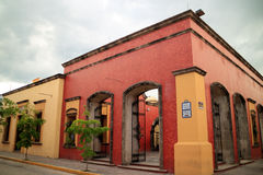 Distillery in Tequila Jalisco. Tequila, JAL, Mexico - September 11, 2015: Some distilleries offer guided tours on their installations in the town of Tequila stock photos