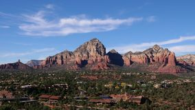 Sedona Arizona Wide Timelapse Establishing Shot
