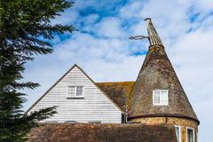 Oast house in kent Royalty Free Stock Photography