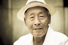 Distinguished Korean gentleman. Royalty Free Stock Photography