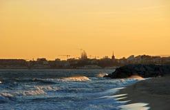 Distinta vista de Barcelona Imagenes de archivo