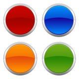 Distintivi circolari Immagini Stock