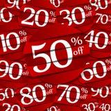 Distintivi di vendita di hard discount royalty illustrazione gratis