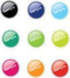 Distintivi di vettore fotografie stock