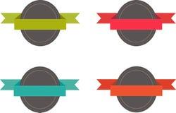 Distintivi per i siti Web Immagine Stock